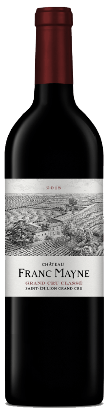 Château Franc Mayne 2018 - Grand cru classé Saint-Emilion - Château Franc Mayne