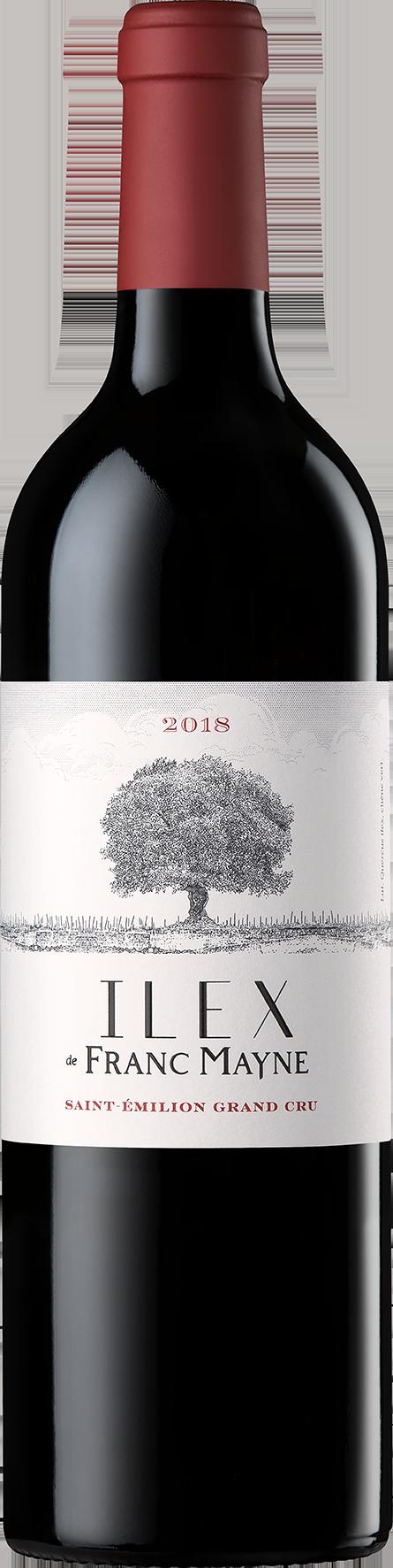Ilex de Franc Mayne 2018 - Grand cru classé Saint-Emilion - Château Franc Mayne
