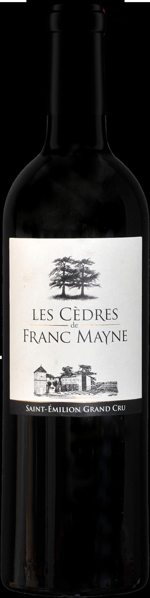 Les Cèdres de Franc Mayne 2017 - Grand cru classé Saint-Emilion - Château Franc Mayne