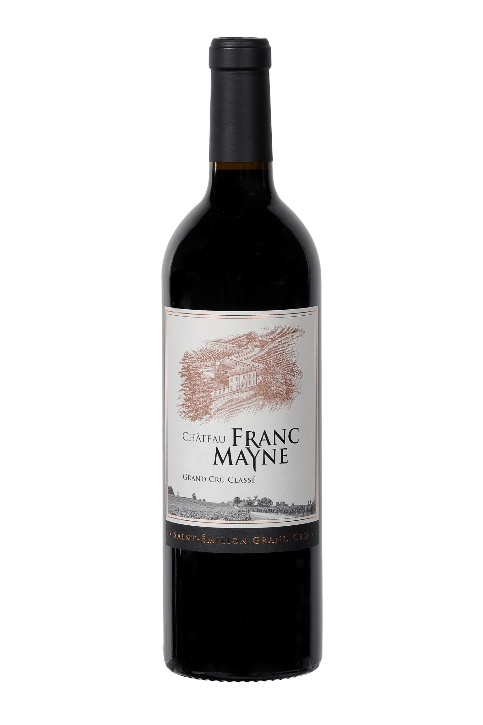Château Franc Mayne 2000 - Grand cru classé Saint-Emilion - Château Franc Mayne